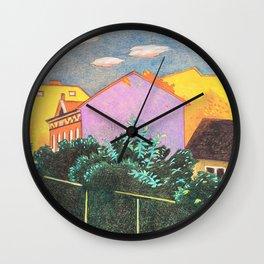 Summer Sunset In Berlin Wall Clock