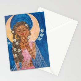 Luna Goddess Stationery Cards