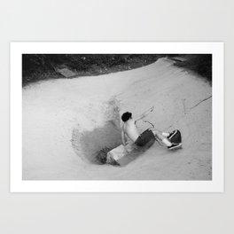 Palisades Bowl 2 Art Print
