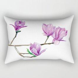 Beautiful magnolia Rectangular Pillow