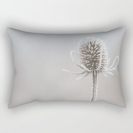 Thistle in the winter Rectangular Pillow
