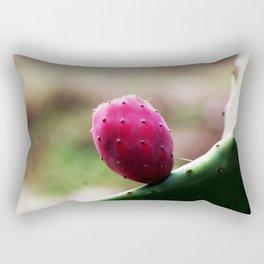 Prickly Pear Cactus Fruit Rectangular Pillow