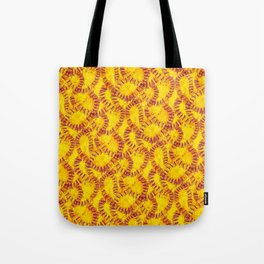 Orange Peel Impressions Tote Bag