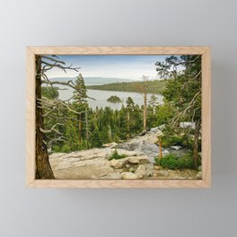 Eagle Falls, Emerald Bay, Lake Tahoe Framed Mini Art Print
