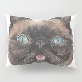Der the Cat - artist Ellie Hoult Pillow Sham