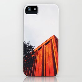 New York Orange iPhone Case