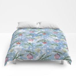Christmas pattern. 2 Comforters