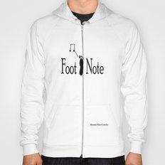 Foot Note Design #2 Hoody