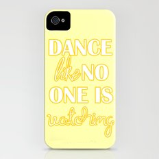 Dance Like No One is Watching iPhone (4, 4s) Slim Case
