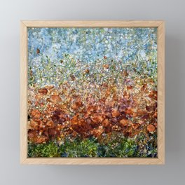 Field Of Spring Poppies By Olena Art Framed Mini Art Print