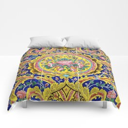 Floral Persian Tile Comforters