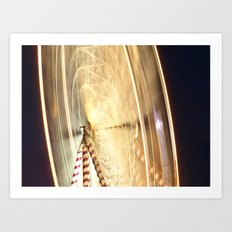 Ferris Wheel at the Tall Ships Waterford 2011 Art Print