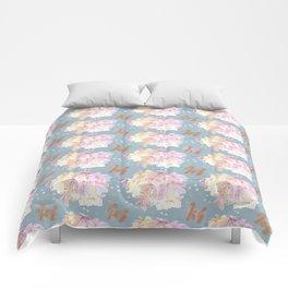 WATERCOLOUR BLUE Comforters
