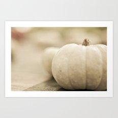 Fourth Generation Pumpkin Art Print