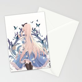 Alice in Wonderland Stationery Cards