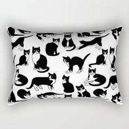 Tuxedo Cats Rectangular Pillow