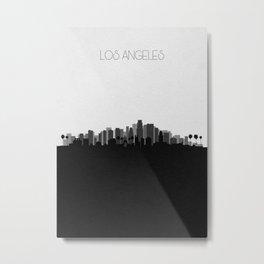 City Skylines: Los Angeles (Alternative) Metal Print
