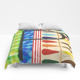 P is for Pattern Comforters