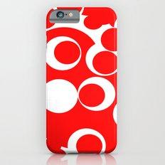 red circles iPhone 6s Slim Case