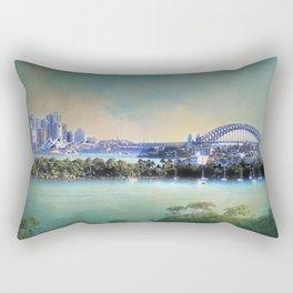 Sydney - The Harbour City Rectangular Pillow