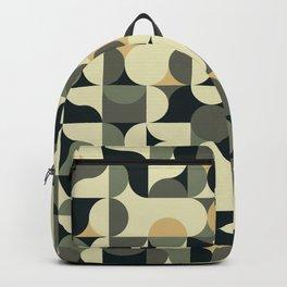 Abstract Geometric Artwork 39 Backpack