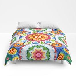 pop flowers Comforters