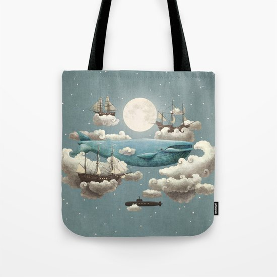 Ocean Meets Sky - colour option Tote Bag