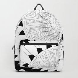 Generative B&W 001 Backpack