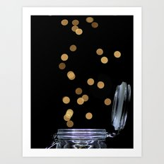 Pennies From Heaven Art Print