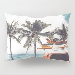 Red surf van Pillow Sham