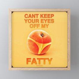 FATTY Framed Mini Art Print