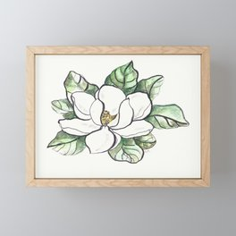 Magnolia Grandiflora Framed Mini Art Print
