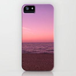 Sunset in Camini iPhone Case