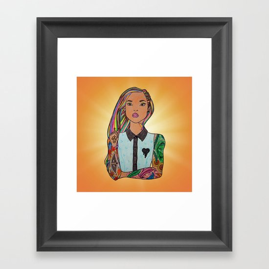 Voices of the Mountains Framed Art Print
