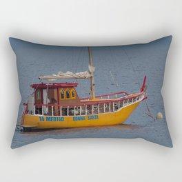 Italian Fishing Boat Rectangular Pillow