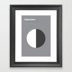 Objectivism Framed Art Print