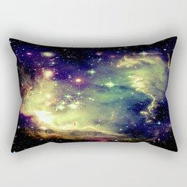 Nebula Galaxy (deep pastels) Rectangular Pillow