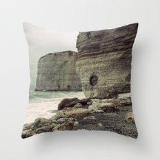 Étretat. France. Throw Pillow