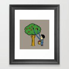 Part Time Job -  Apple Farm Framed Art Print
