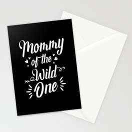 Mommy of the Wild one Stationery Cards