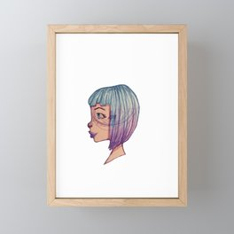 Ombre Framed Mini Art Print