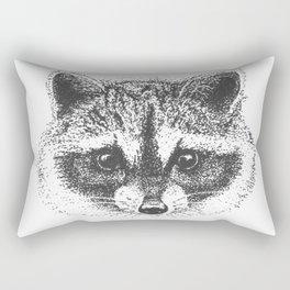 Adorable little trash panda Rectangular Pillow