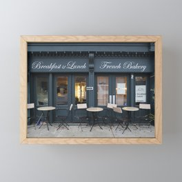 French Bakery 1 Framed Mini Art Print