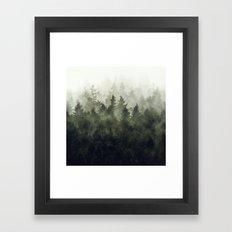 The Heart Of My Heart // Green Mountain Edit Framed Art Print