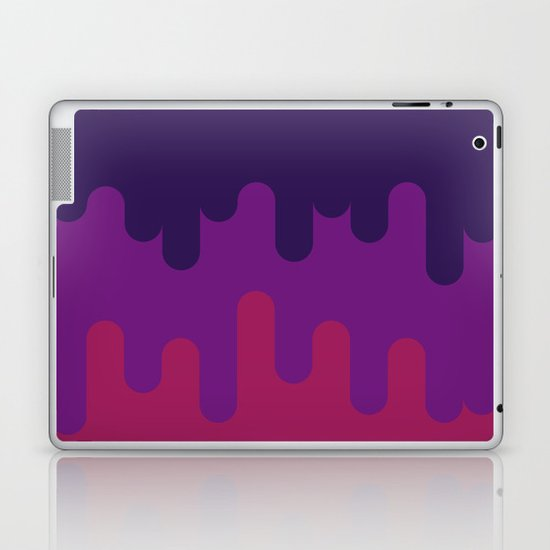 Drips and Drops - Pink Laptop & iPad Skin