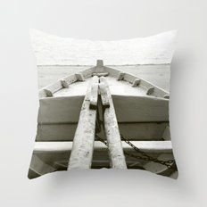Boat I Throw Pillow