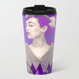 Femme Violette Metal Travel Mug