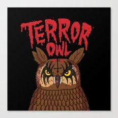 Terror Owl Canvas Print