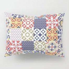 Portuguese pattern color Pillow Sham