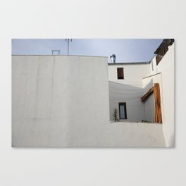 Andalusian house Canvas Print